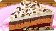 Рецепт пирога с мороженым