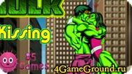 Kiss Hulk Game