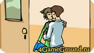 School languid kiss Game
