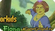 Dress-Up game about Fiona from Shrek