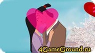 Kiss with Mulan Game