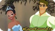 Kiss the prince and Tiana Game
