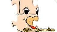 Puzzle pig n chicken