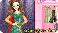 Одевалка про Барби в королевском стиле