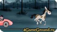 Гонка на лошади