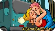Kissing students Game