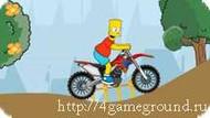 Игра Simpson bike