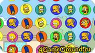 Игра Simpsons bejeweled