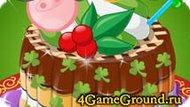 Украшаем сладкий тортик