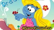 Dress Up game about Smurfetta