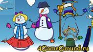 Игра про Снеговиков