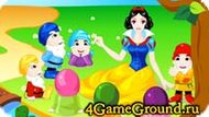 Decor game about Snow White