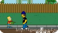 Игра The Simpson shooting