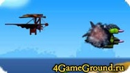 Flying game out of time