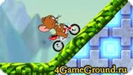 Ghonim on a motorcycle with Jerry Game