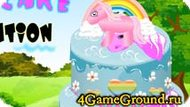 Decorate the cake with my pony Game