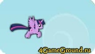 Flying game about Twilight-wing Pony
