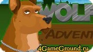 Running game about Wolf