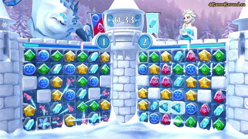 Игры Эльза и Анна / Холодное сердце