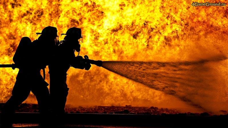 Игры пожарные - профессия героя!