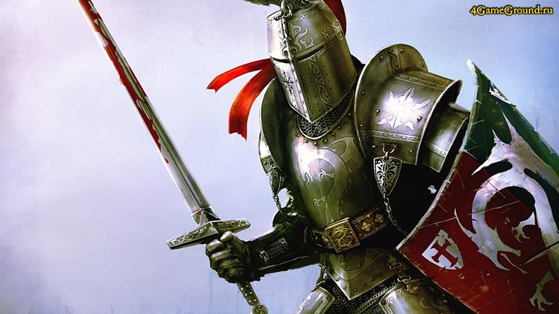 Игры рыцари - благородный воин!