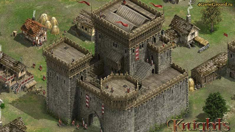 Игры рыцари - твой замок ждет!