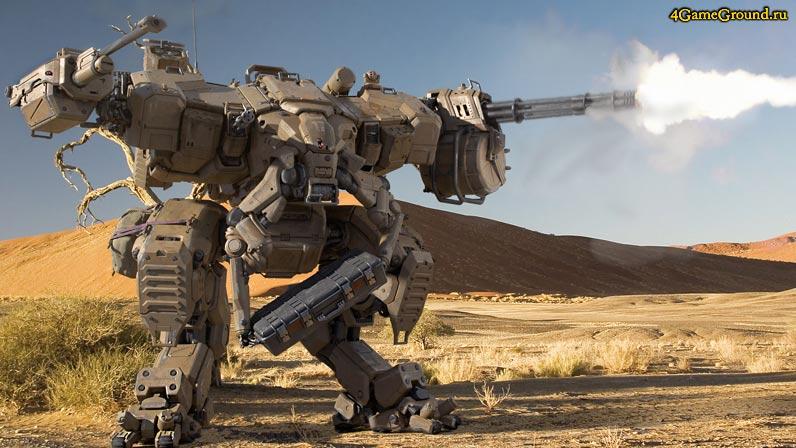 Игры роботы - настоящий боевой робот