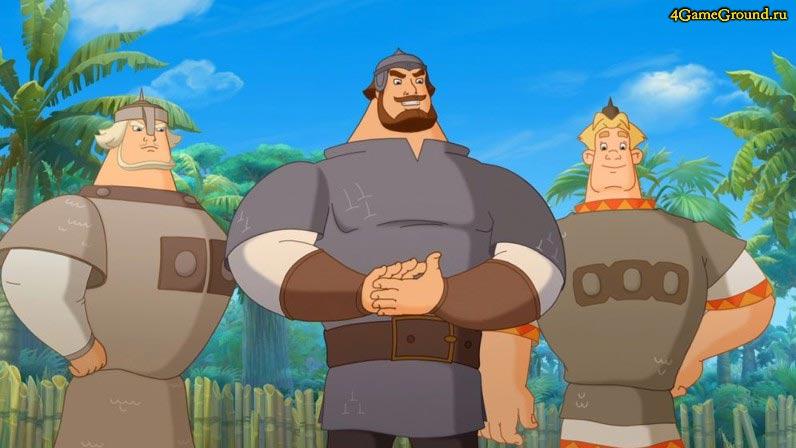 Игры Три богатыря - главные герои